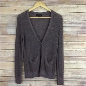 Banana Republic Metallic Detailed Cardigan
